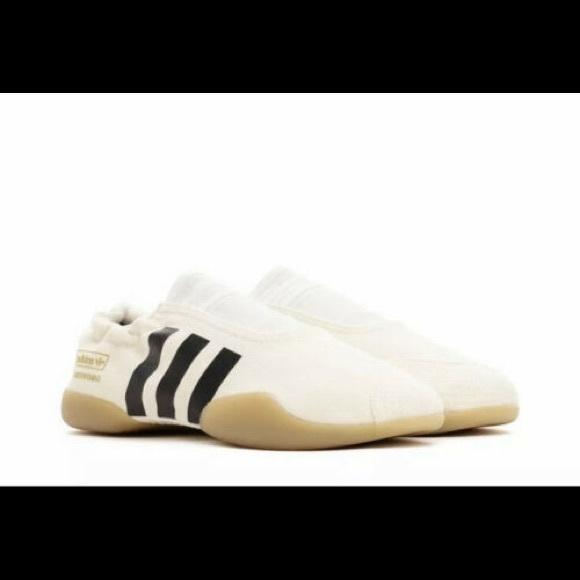 NEW Adidas Taekwondo Shoes in Cream